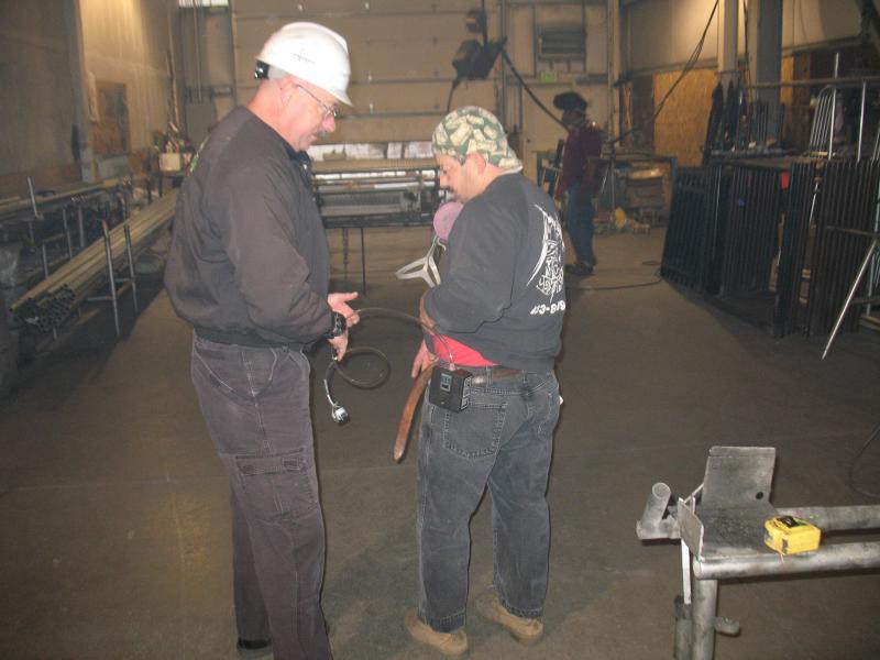 Welding fume exposure assessment